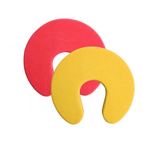 아트사인)도어패드(노랑,적색/94*94*18mm/2개입)/L0010/9863